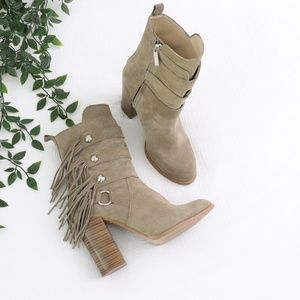 Zara Woman Nude Sued Boots 38